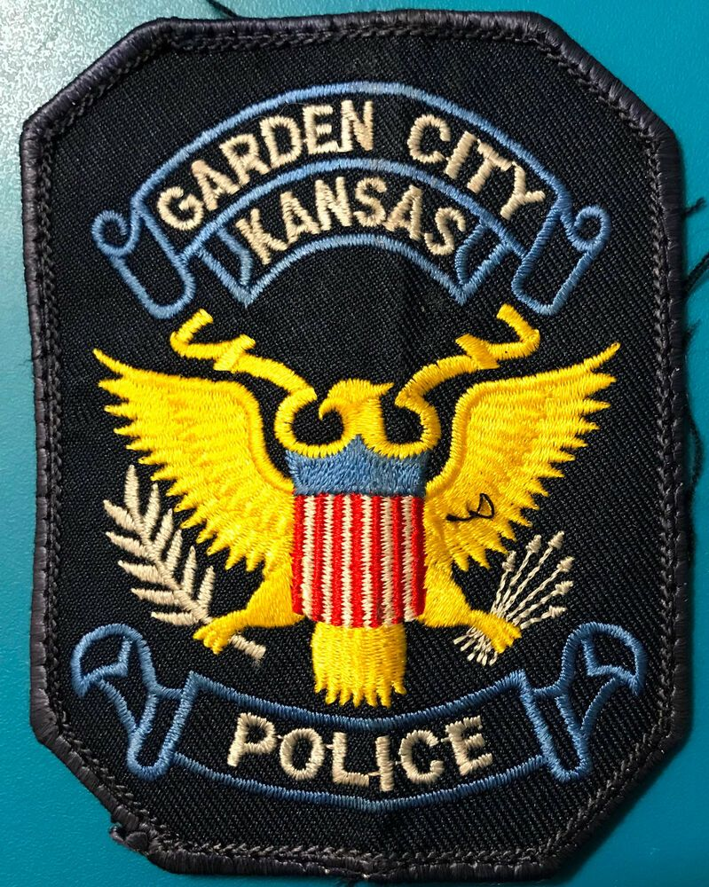 Garden City Kansas Police Patch Police Patches Police Patches