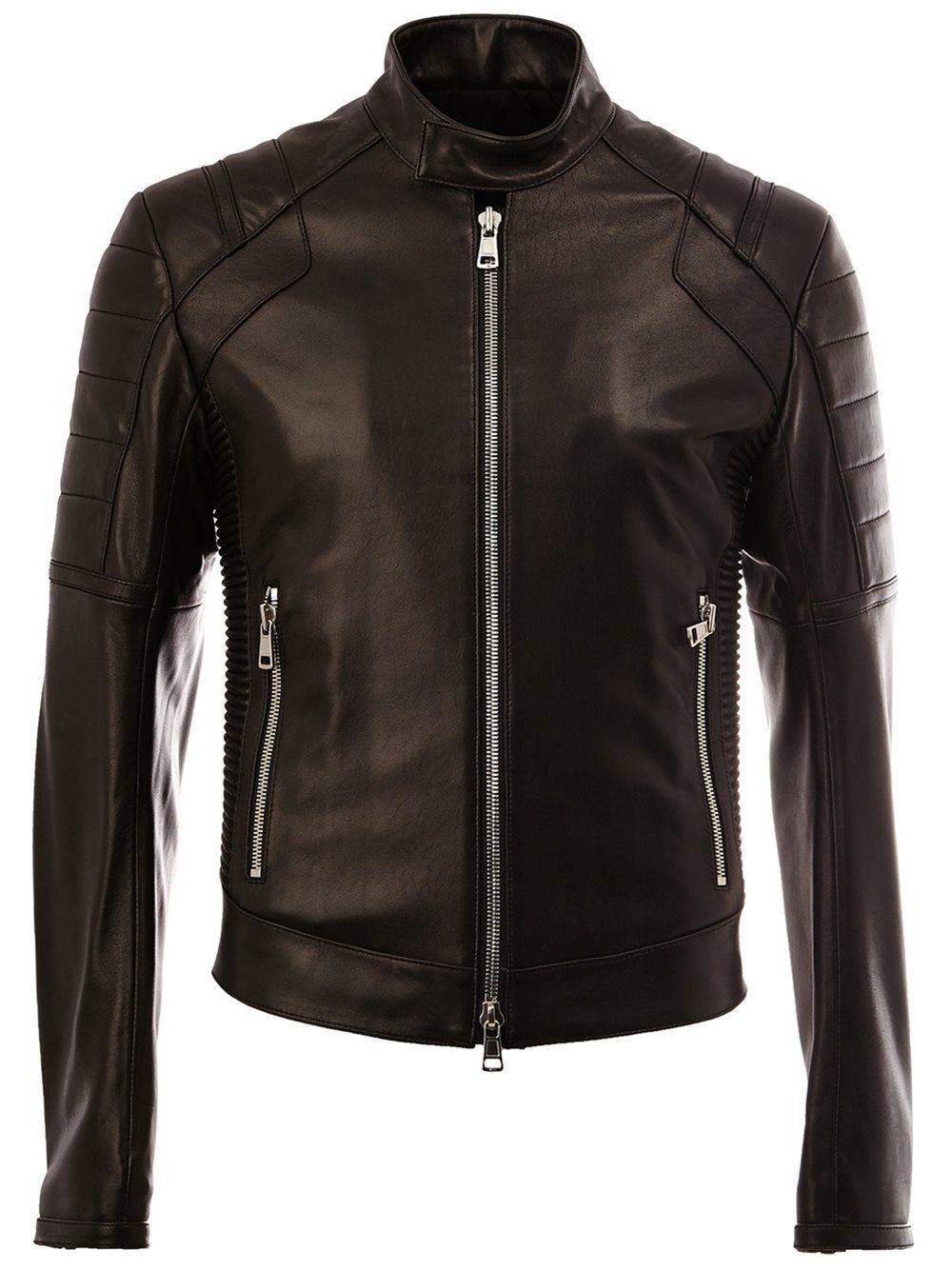 Juun J Quilted Shoulder Jacket Leather Jacket Men Style Leather Jacket Men Leather Jacket Outfit Men [ 1334 x 1000 Pixel ]