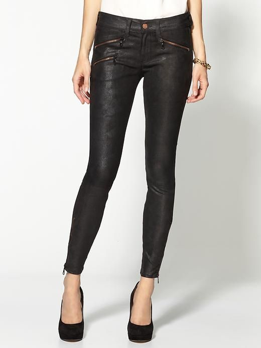 skinny leather pants!