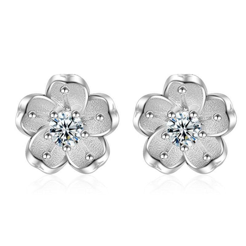 Genuine sterling silver earrings hallmarked solid 925 Pentagram on hook E000498
