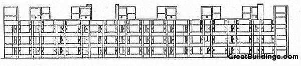 Perfect Louis Kahn · Great Buildings Drawing   Erdman Hall Dormitories