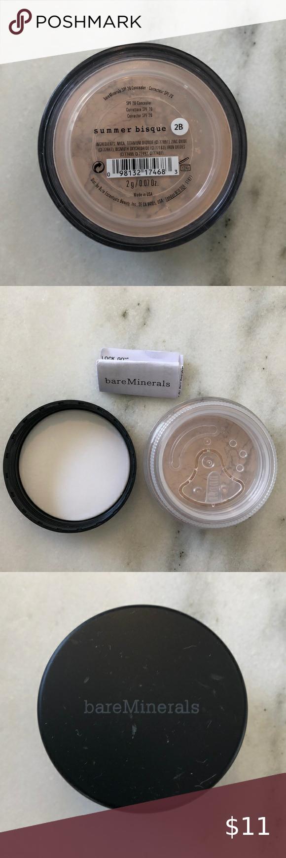 bare Minerals Loose Powder Concealer SPF 20 Boutique in