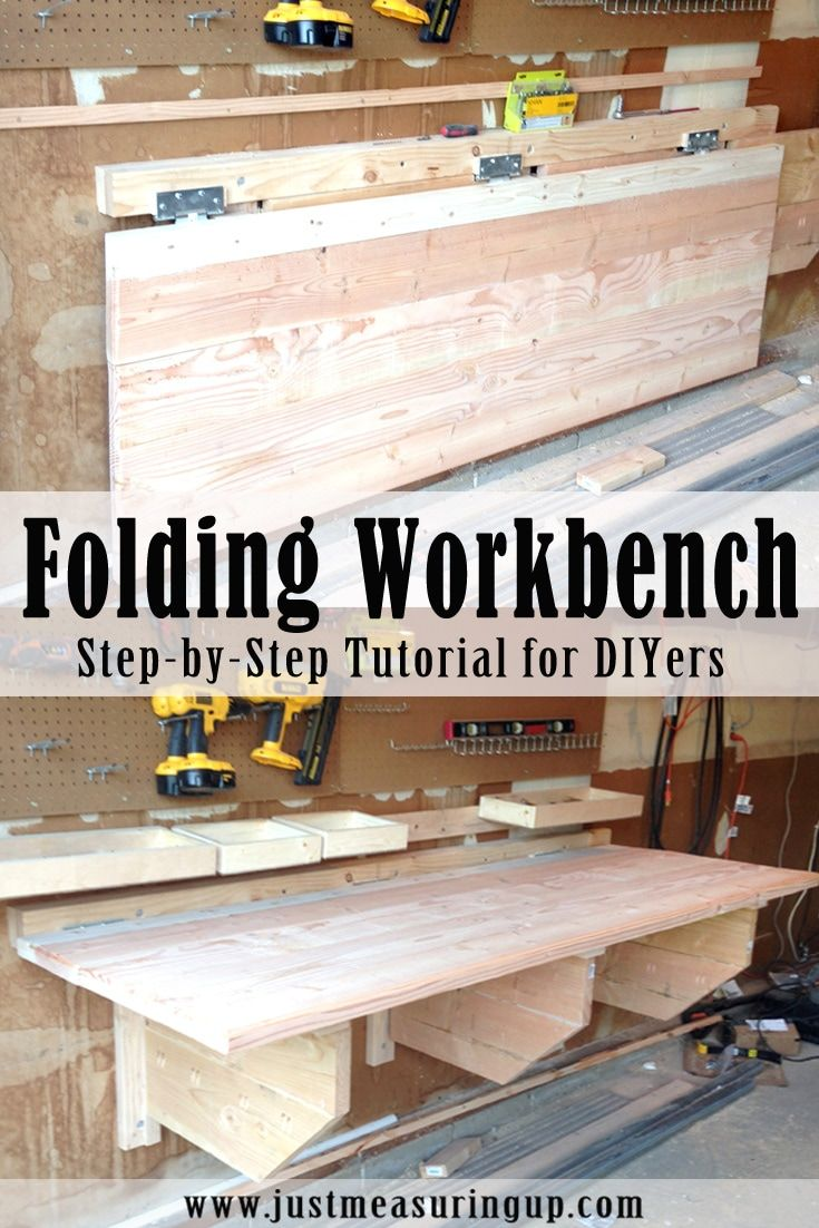 Diy Folding Workbench Remodel Ideas Diy Workbench