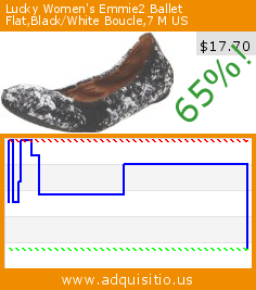 Lucky Women's Emmie2 Ballet Flat,Black/White Boucle,7 M US (Apparel). Drop 65%! Current price $17.70, the previous price was $49.91. http://www.adquisitio.us/lucky/womens-emmie2-ballet-113