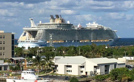 Royal Caribbean Allure of the Seas -taken April 10, 2016
