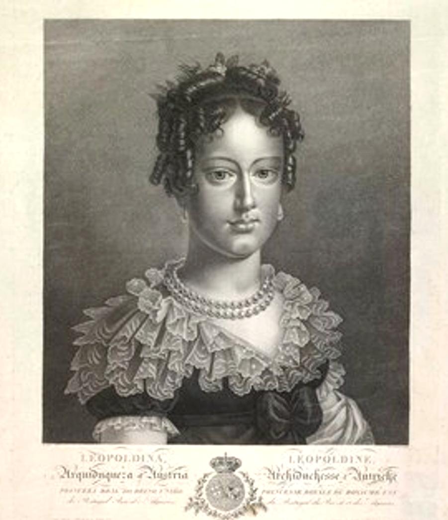D. Leopoldina- primeira esposa de D. Pedro I