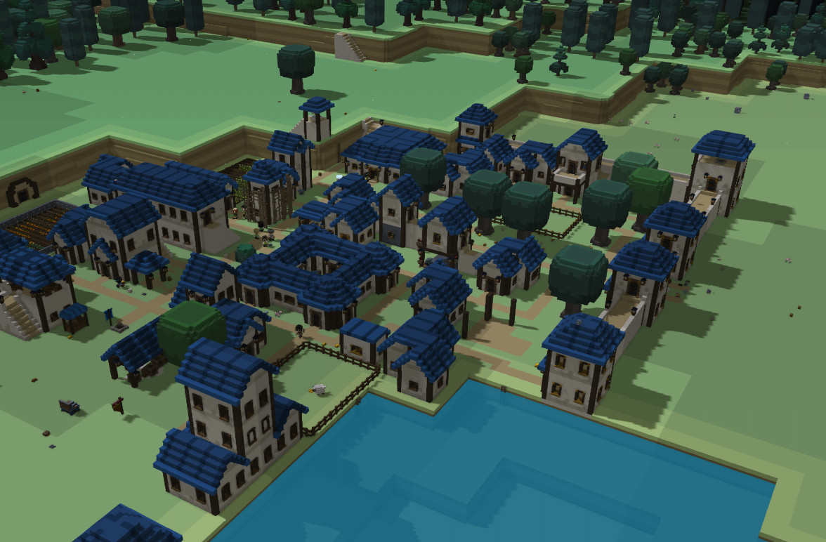 Wip Town Of Rabitspring Fan Media Stonehearth Discourse Towns Wip Video Games