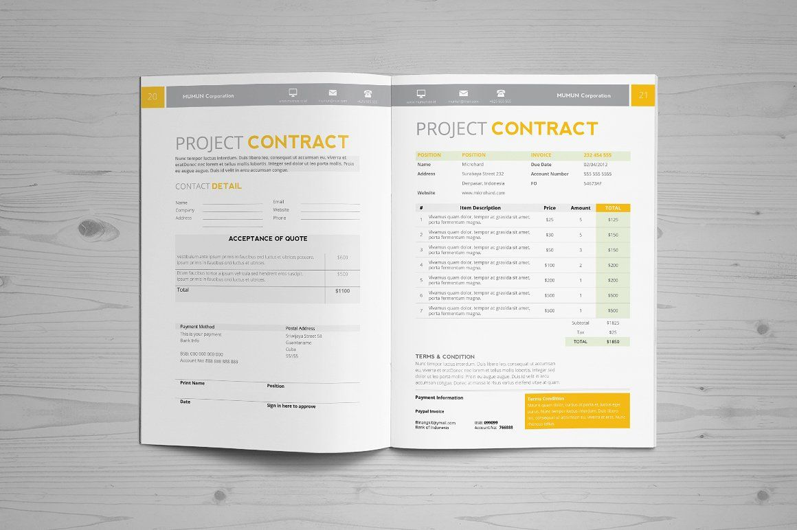 Jogja Simple Proposal Template By Binangkit On Creativemarket