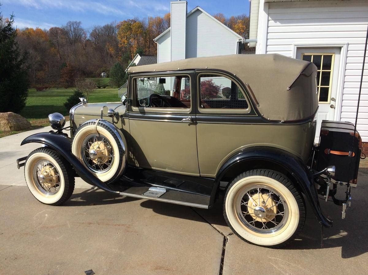 1931 Ford A400 2dr Convertible Sedan..Re-pin brought to you by ...