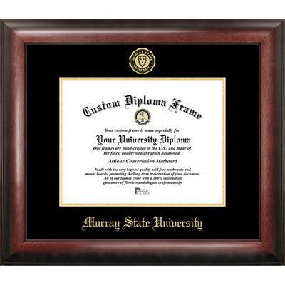 Campus Images NCAA Gold Embossed Diploma Picture Frame NCAA Team ...