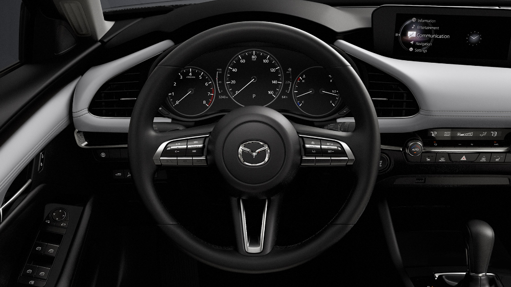 2020 Mazda 3 Hatchback Steering Wheel Mazda 3 Hatchback Mazda 3 Mazda