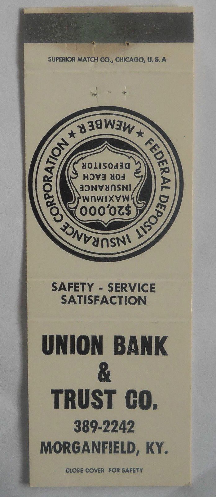 337 Union Bank And Trust Co Morgan Field Ky With Images Loan