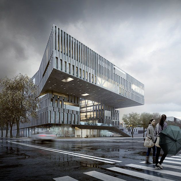 architecture rendering Google Search 現代建築, 建築パース, ファサード