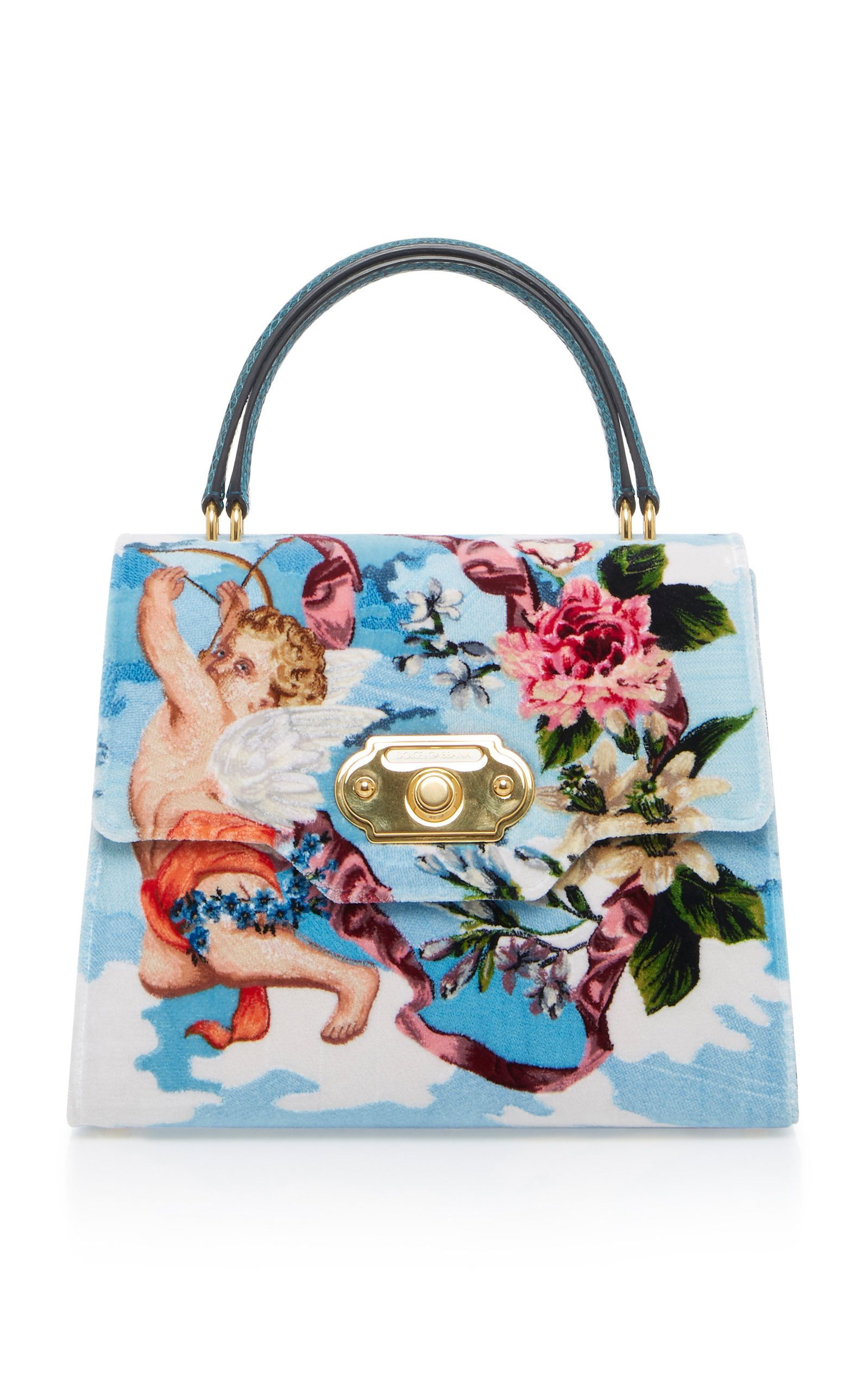 low price meet where to buy Dolce & Gabbana Welcome Bag In Printed Leather | Designer ...