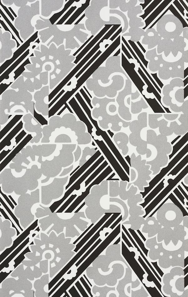 In Paris Black and White est Toujours Right | Papier peint art deco, Papier peint et Art déco