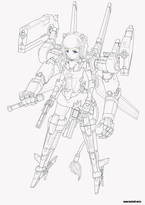 machine and girls