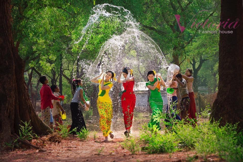 Thingyan Myanmar traditional water festival