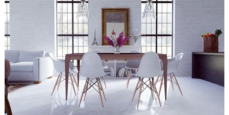 Apostar por el #blanco en #decoración es siempre un acierto Lo - esszimmer gestaltung 107 ideen