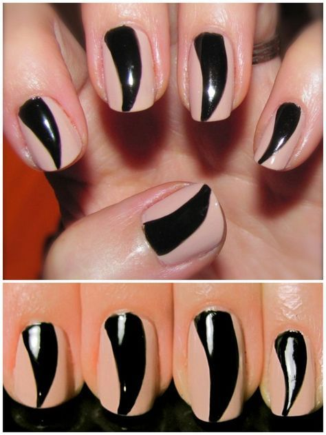 DIY Halloween Claw Nail Art from iPolished. Style inspiration. Please choose cruel …