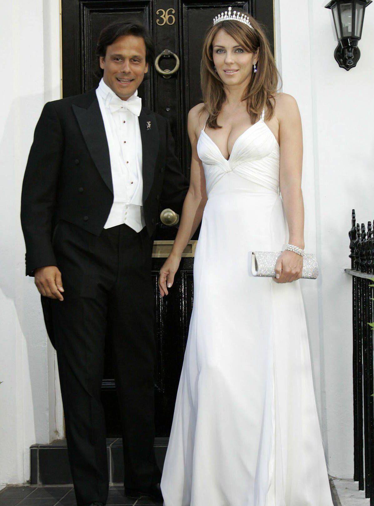cba71c3a5506 KLARE FOR BRYLLUP  Liz Hurley og Arun Nayar skal gifte seg både i England  og India.