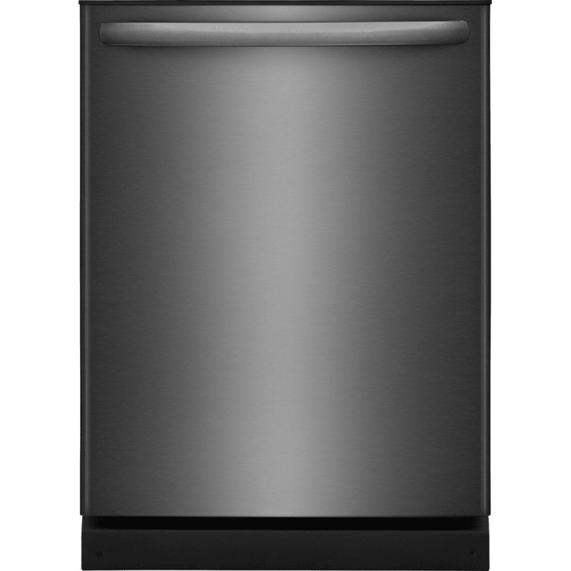 Frigidaire Ffid2426td Black Stainless Steel 24 Inch Wide 14 Place Setting Energy Star Rated Built In Fully Integrated Dishwasher With Orbitclean Spray Arm And D Black Dishwasher Built In Dishwasher Fully Integrated Dishwasher
