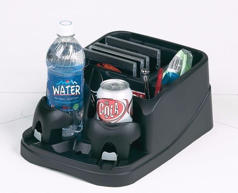 Universal For Car Van Cup Holder Storage Drink Bottle Can Mug Mount Stand Black