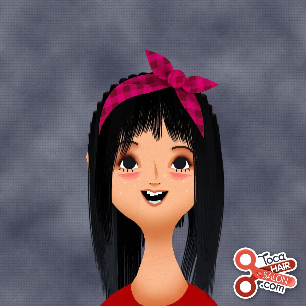 Cool Toca Boca Hair Salon App Cool Hairstyles Hair Salon Character