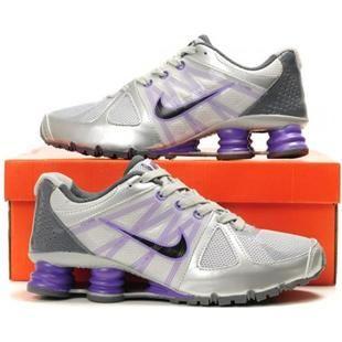 new style d7f95 c0a54 www.asneakers4u.com 438683 055 Nike Shox Agent Grey Purple J01001
