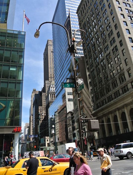 Our hotel was in the Fashion District downtown NYC near Bryant Park  Day 3 Jun 5 2012