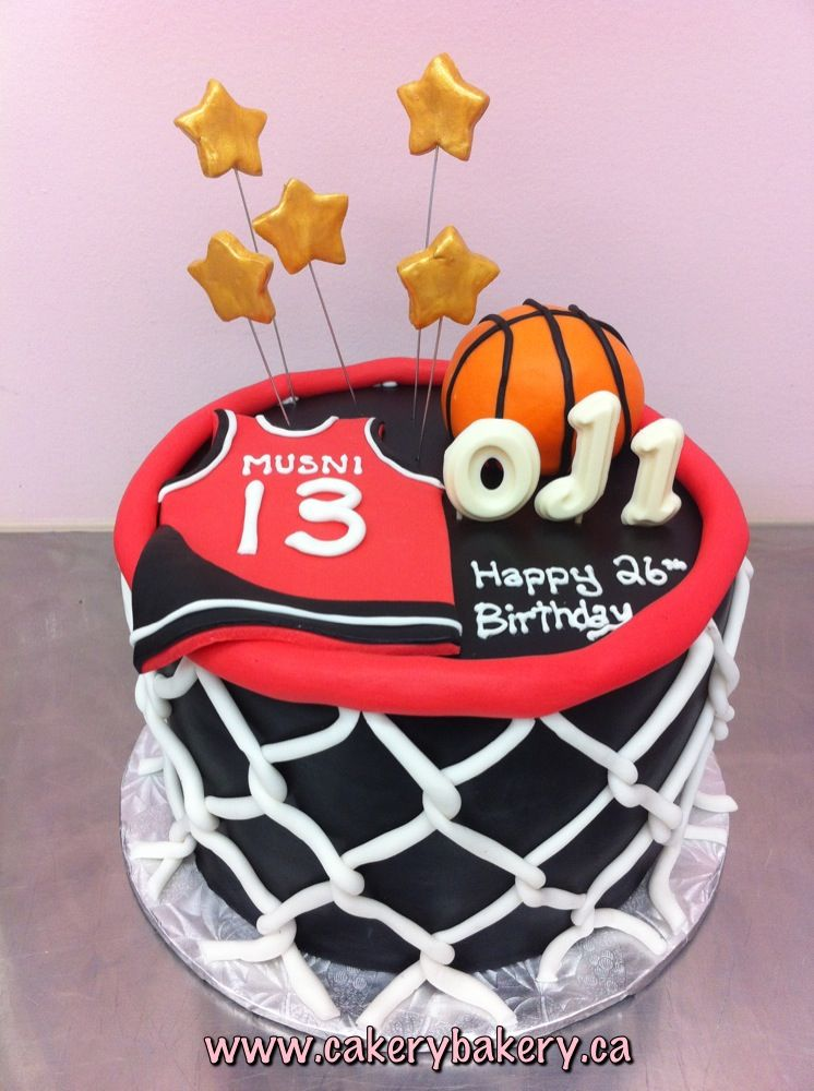 Basketball Cake Thinking Of Doing This For My Sons 18th But