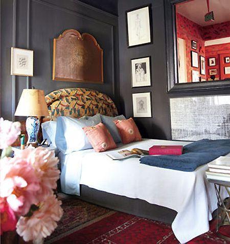 temo callahan's bedroom.  Domino Mag