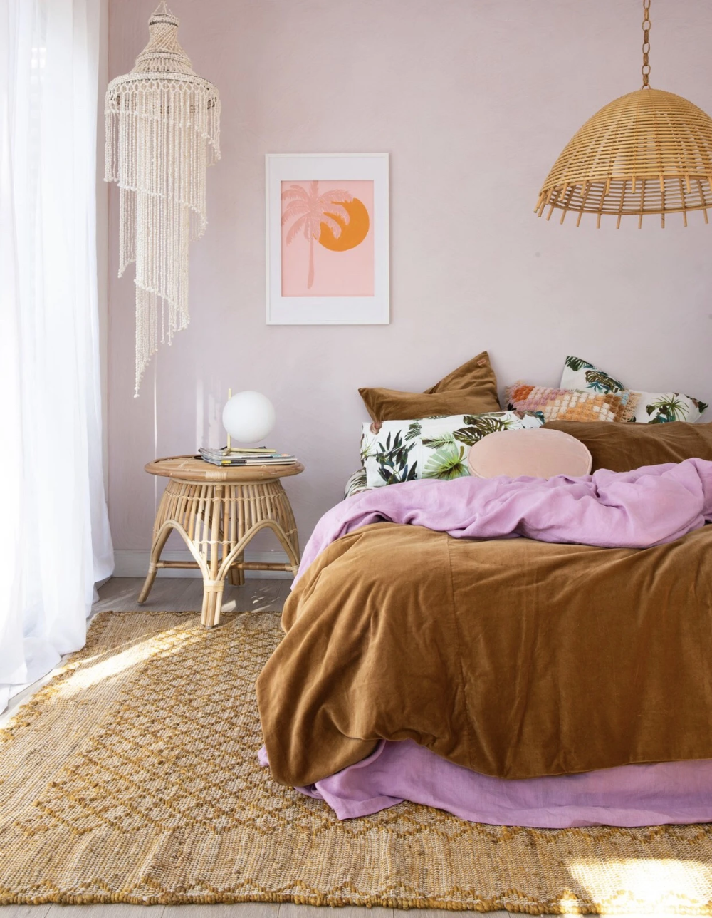 Palm paradise – Natalie Jade  Stylish bedroom, New room, Home decor