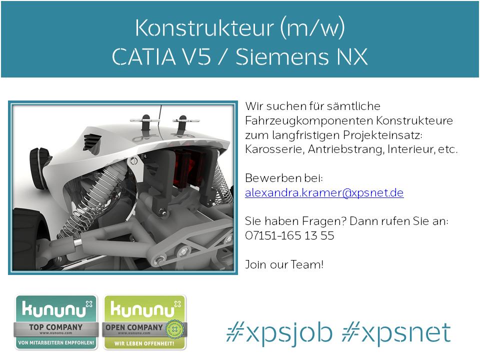 Job der Woche+++ #Konstruktion #Catia_V5 oder #Siemens_NX. Bewerben ...