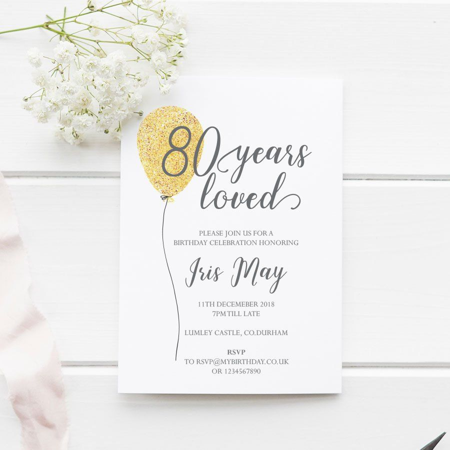 3th Birthday Invitation, 3 years loved, EDITABLE Template A3 and