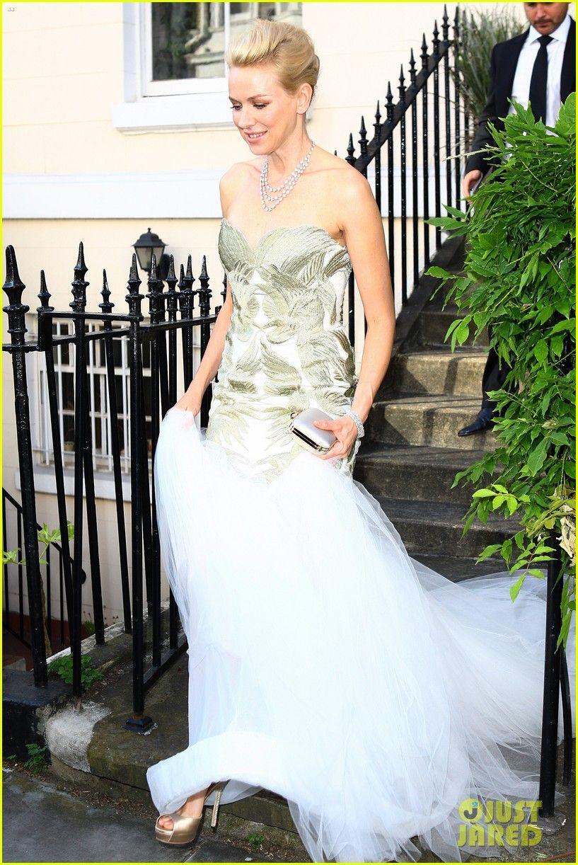 Naomi Watts: White Tie & Tiara Ball in London!