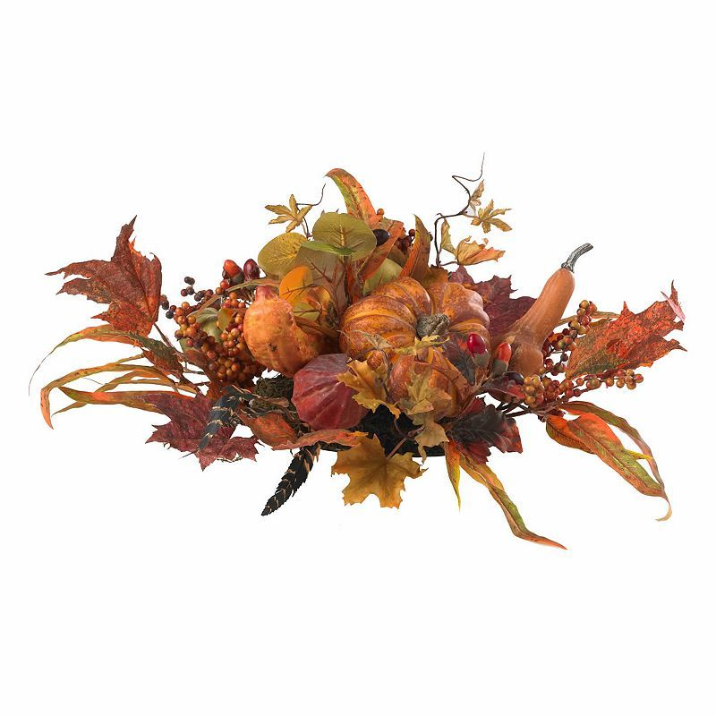 nearly natural Harvest Centerpiece, Orange