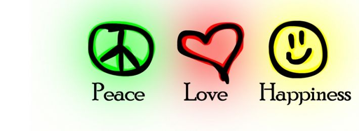 Peace Love Happiness Facebook Covers (With images