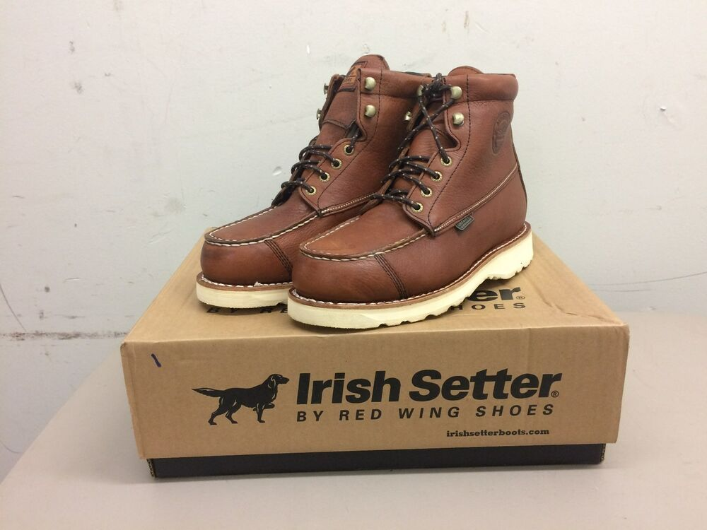 a2231a92a19 Men's Red Wing 838 Irish Setter Wingshooter Boots 7 1/2 D UltraDry ...
