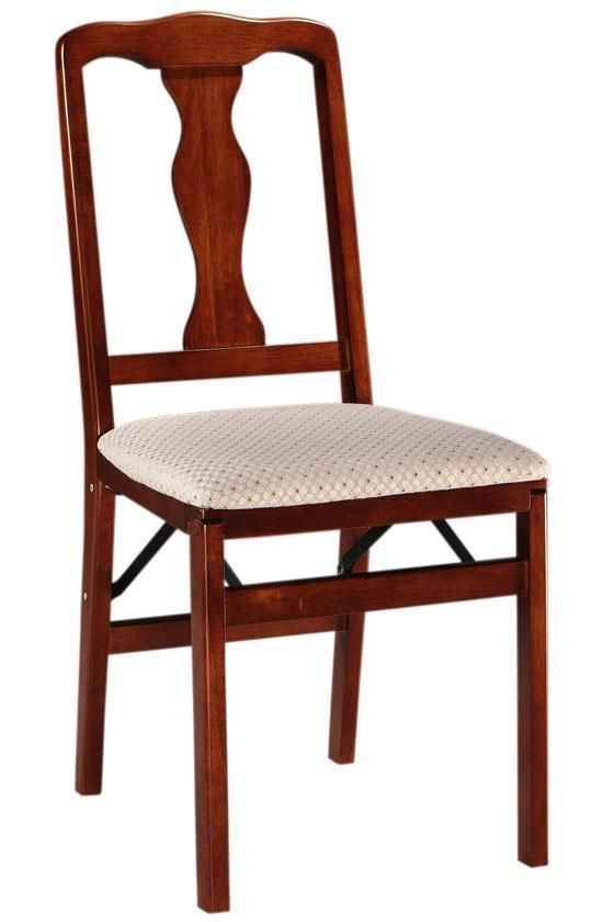 Cherry Queen Anne Folding Chair - Set of Two - $179.00 - Home Decorators Collection (  sc 1 st  Pinterest & Cherry Queen Anne Folding Chair - Set of Two - $179.00 - Home ...