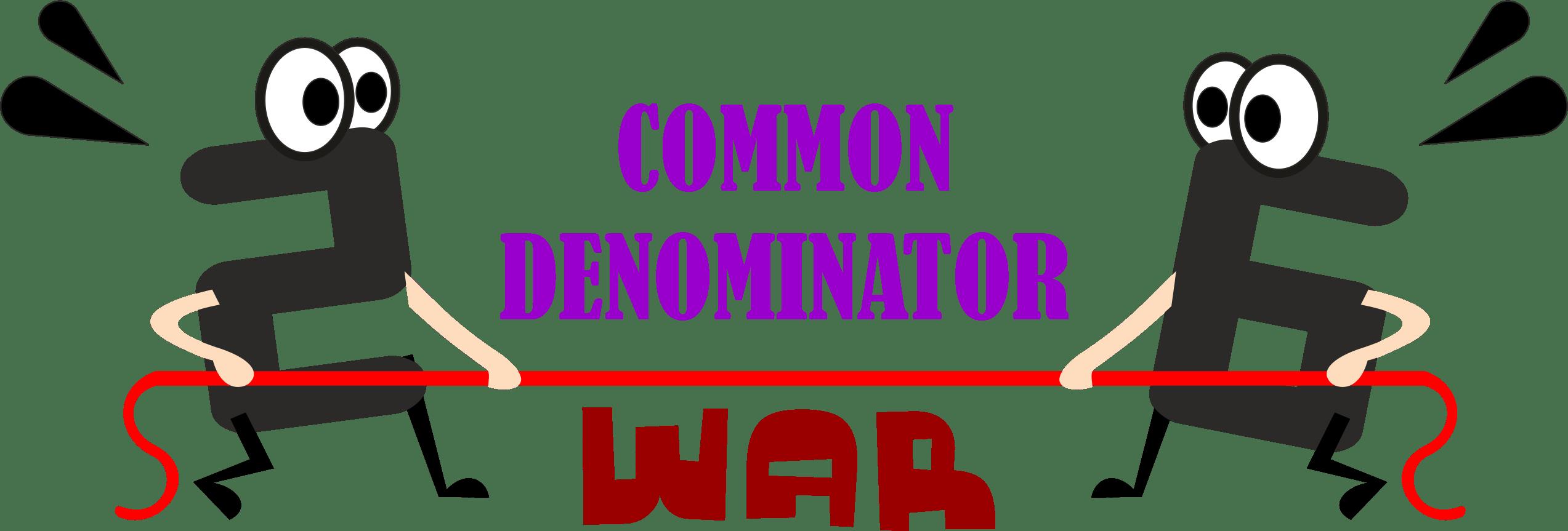 Common Denominator War Modifications Adaptations