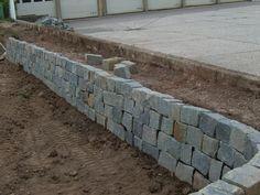 trockenmauer bauanleitung zum selber bauen heimwerker forum traumgarten pinterest. Black Bedroom Furniture Sets. Home Design Ideas