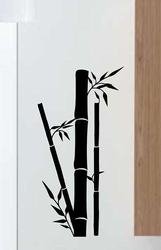 PEGATINA VINILO DECORATIVO PARED REGALO ORIGINAL BAMBU eBay - decoracion con bambu