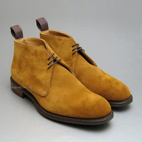 3318cf82b21a Cheaney Jackie III R Chukka Boots in Maracca Suede | Shoes | Boots ...