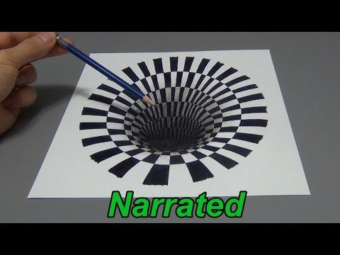 35 Cool But Easy Drawing Tutorials For The Artist In You Optical
