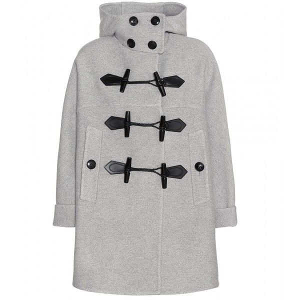Burberry Brit Anbridge Wool and Cashmere Duffle Coat (€1.300 ...