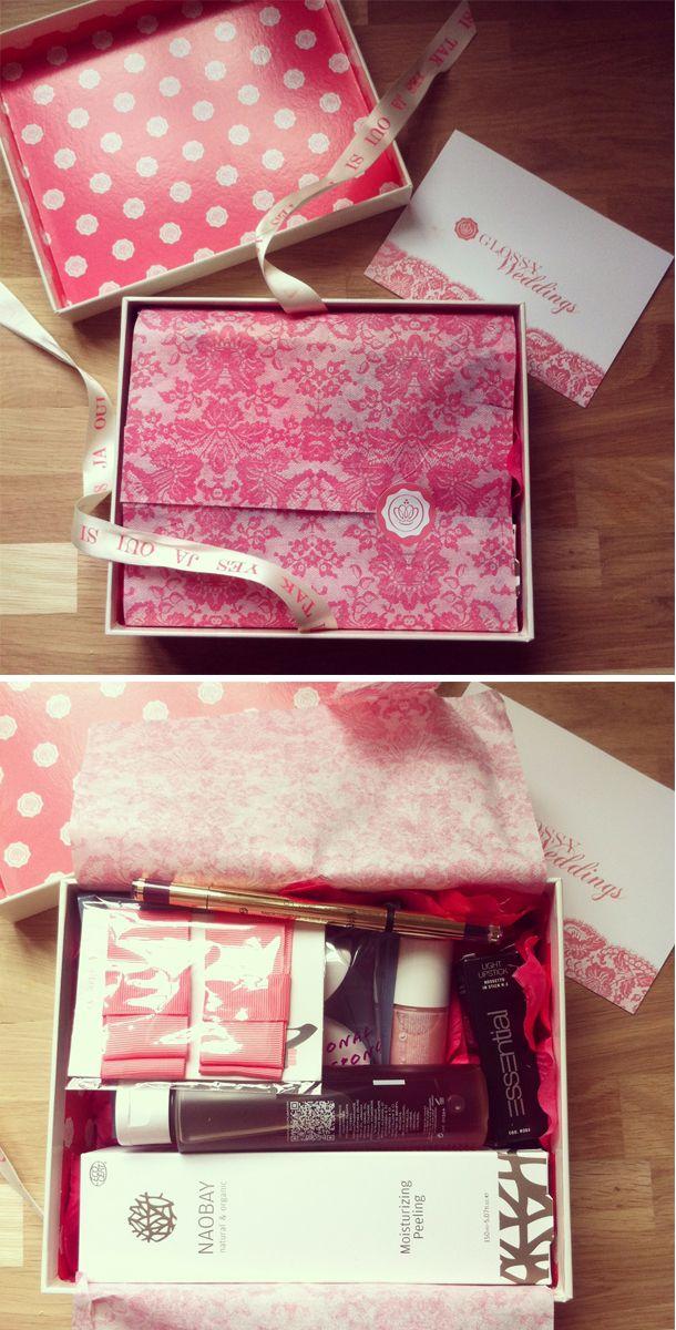 la glossy box dition mariage id e cadeau temouine box t moins mariage. Black Bedroom Furniture Sets. Home Design Ideas