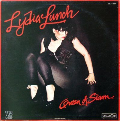Lydia Lunch on the cover of
