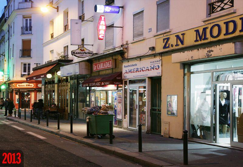 Rue Basfroi - Paris XIe en 2013  Au début du XXe siècle, on appelait ce quartier « le petit Istanbul ». C'est ici qu'avait élu domicile la communauté judéo-espagnole, celle qui avait été chassée d'Espagne en 1492 et qui avait quitté le Bosphore sur fond de déclin de l'Empire ottoman. #LRT #SDBX3 #online #NBA