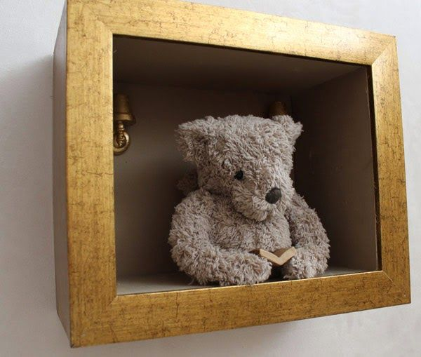 Put Old Stuffed Animal In A Frame Teddy Bears Bear Baby Room