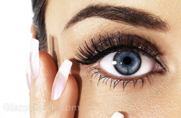 How to make your eyes look bigger fake eyelashes